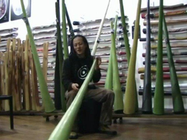 Jon Worsley Hemp Didgeridoos Demo Model 1046