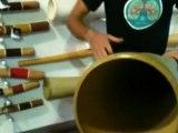 Didgeridoo Store Product Demo - Hemp Didge key F MN 822