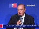 UMP - Conventions UMP : la crise nous a fait inverser nos priorités