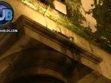 Napoli - Piazza Plebiscito, il degrado del colonnato