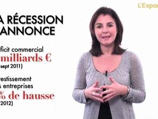La récession s'annonce en France