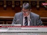 Intervention Dominique Watrin PLFSS 08-11-11