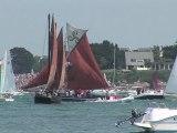 Semaine du Golfe du Morbihan 2011 - La grande parade - Bretagne