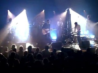 Syd Matters – Teaser live #2 « Halalcsillag »