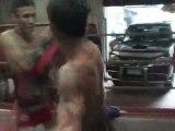 Muay thai camp boxe Sing klong Si Thailande