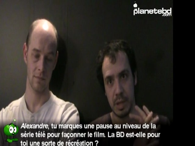 Alexandre Astier & Steven Dupré en interview pour PlaneteBD.com