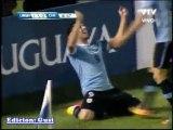 Uruguay 4 - Chile 0 con 4 goles de Luis Suárez