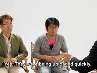 Iwata interroge des développeurs  de Freakyforms: Vos Créations Prennent Vie !
