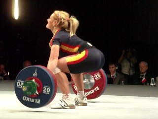 World Weightlifting Championships - W-75kgA - Lidia VALENTIN - Snatch 2 - 117kg
