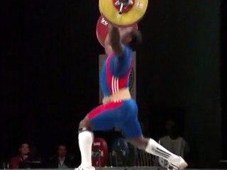 World Weightlifting Championships - M94kgB - David MATAM MATAM - Clean & Jerk 3 - 210kg