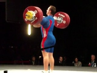 World Weightlifting Championships - M-105kgC - Kévin BOULY - Clean & Jerk 1