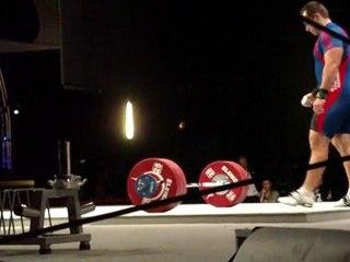 World Weightlifting Championships - M-105kgC - Kévin BOULY - Clean & Jerk 2