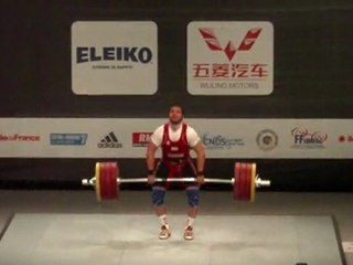 World Weightlifting Championships - M85kgB - Shrezodjon YUSUPOV - Clean & Jerk 2 - 205kg