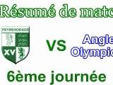 Résumé vidéo Peyrehorade Sport Rugby - Anglet Olympique