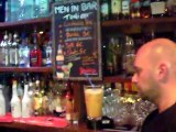 Steeve - Men in Bar de Escale Bar Cocktails Flair Filmed by Dan Bizet