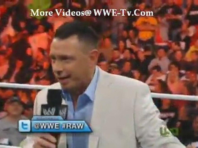 WWE Raw - 11/14/2011 - 14th November 2011 - Part 1