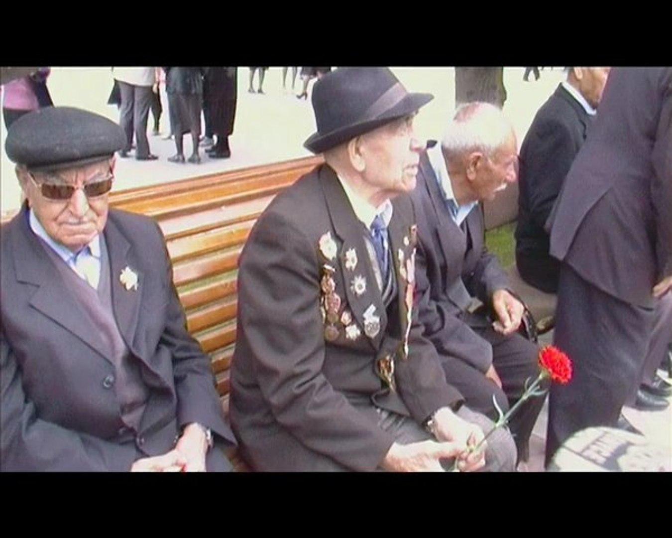 День Победы 2011 г. - 9 май Азербайджан г. Сумгаит
