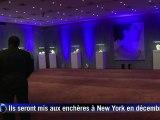 Des joyaux mythiques d'Elizabeth Taylor exposés à Paris