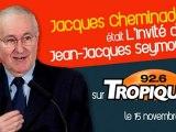 Jacques Cheminade, l'invité de Jean-Jacques Seymour sur Tropique FM