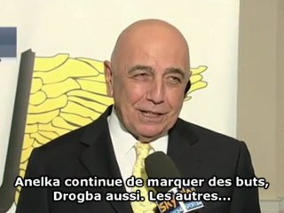 "Galliani ""amoureux"" de Drogba"