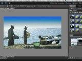 Transformer un ciel blanc en ciel bleu avec Photoshop Elements
