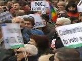 La marcha de los indignados acaba en Sol con una asamblea
