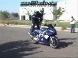montage vidéos de chutes avec moto.