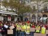Mobilisation étudiants et professionnels en orthophonie Montpellier (14/11/2011)