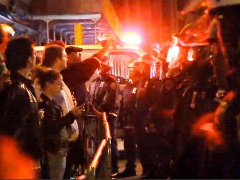 The Raid on Zuccotti Park