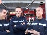 Les pompiers marseillais de retour de la Réunion