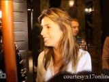 Sexy Elisabetta Canalis parties in WeHo