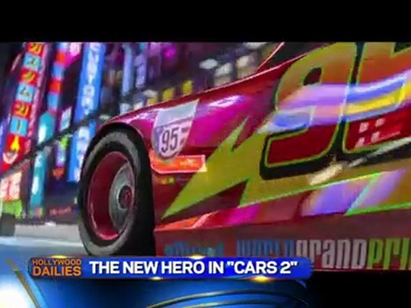 Cars 2 - Michael Caine Interview