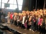 Hirson : les écoliers chantent pour les droits des enfants