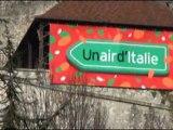 Grenoble aux couleurs de l'année de l'Italie en Isère