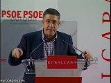 Patxi agradecido con Zapatero y Rubalcaba