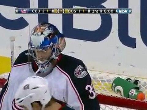 Blue Jackets vs Bruins 11/17/11