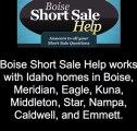 Boise Short Sale Help - Boise short sale Realtors