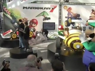Nintendo at the L.A Auto Show de