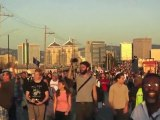 Occupy Oakland General Strike Artist Visual Footage Montage