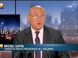 BFMTV 2012 : qui êtes-vous Michel Sapin ?