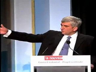 Discours d'Hervé Morin lors du Conseil national du 20.11.2011