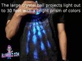Flashing LightShow Flashing Pendant Necklace by BLINKEEZ.com