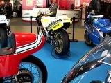 Salon Moto Légende 2011 au Parc Floral de Paris sur Vincennes TV Yamaha Racing célèbre 50 ans