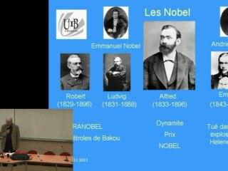 Histoire des Nodel et des principaux prix Nobel