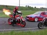 Moto et Motards - DRIFT MOTO vs AUTO