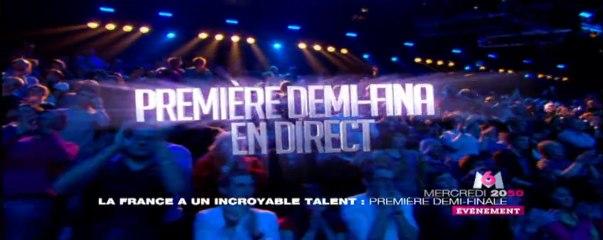 La France a un incroyable talent, 1ère demi-finale en direct mercredi 23 novembre sur M6