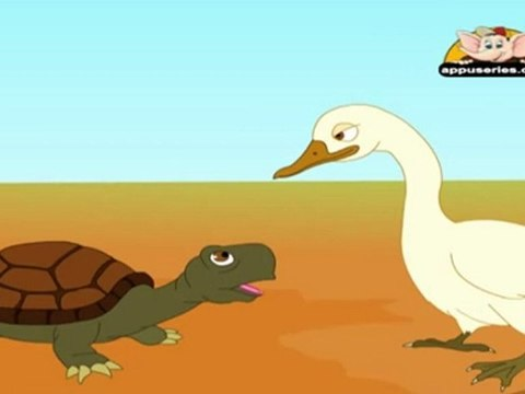 Panchatantra Tales in Sindhi - The Talkative Tortoise