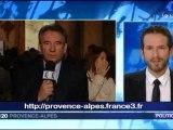 François Bayrou invité du 19/20 France3 Provence-Alpes le 21/11/11