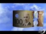 """Denaro 2.0: in Canada arrivano le banconote di plastica. Circolano già i primi esemplari: """"Sicure, economiche, verdi"""""""