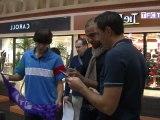 Aymen Abdennour rencontre les supporters du TFC à Carrefour Grand Portet